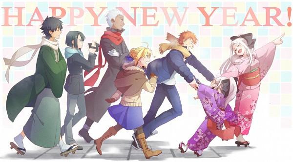 Tags: Anime, Ruchi, TYPE-MOON, Fate/zero, Fate/stay night, Hisau Maiya, Emiya Shirou, Archer (Fate/stay night), Irisviel von Einzbern, Emiya Kiritsugu, Saber (Fate/stay night), Illyasviel von Einzbern, Emiya Family