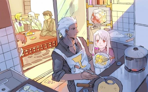 Tags: Anime, Pixiv Id 335061, TYPE-MOON, Fate/zero, Fate/stay night: Unlimited Blade Works, Fate/stay night, Emiya Shirou, Saber (Fate/stay night), Irisviel von Einzbern, Archer (Fate/stay night), Emiya Kiritsugu, Illyasviel von Einzbern, Emiya Family