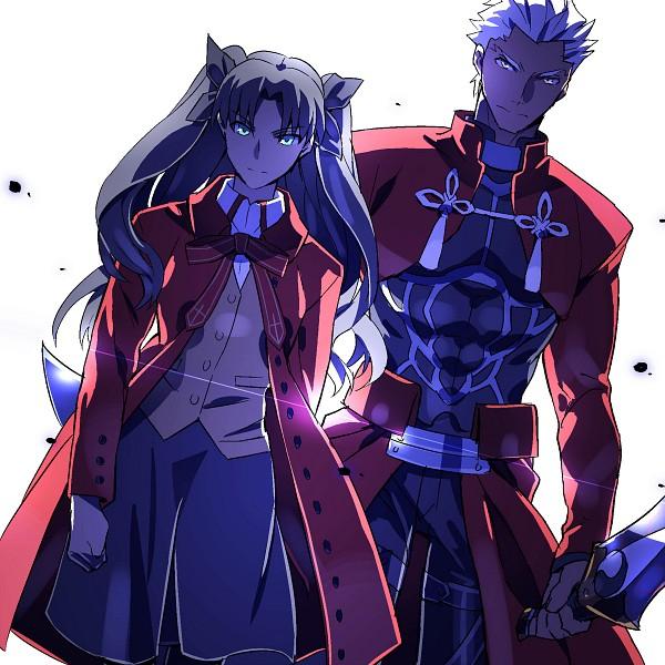 Tags: Anime, Kon Manatsu, Fate/stay night, Tohsaka Rin, Archer (Fate/stay night), Fanart, Fanart From Pixiv, Pixiv