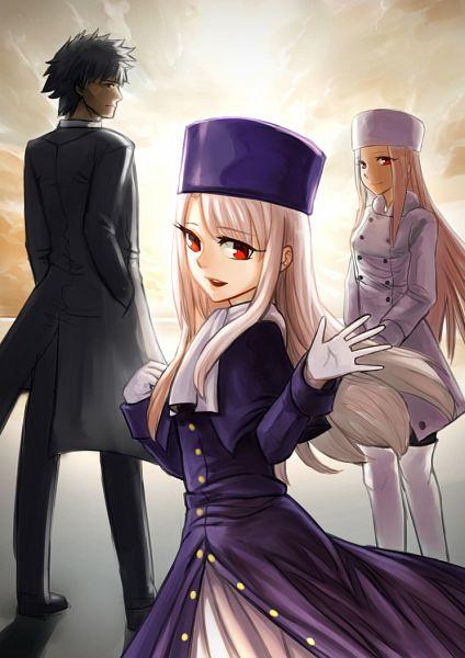 Tags: Anime, Pixiv Id 1428335, Fate/stay night, Irisviel von Einzbern, Emiya Kiritsugu, Illyasviel von Einzbern, Mobile Wallpaper