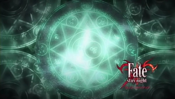 Tags: Anime, TYPE-MOON, Fate/stay night, Screenshot, Symbols and Shapes