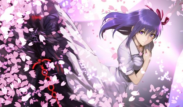 Tags: Anime, Hinomoto Madoka, Fate/stay night, Saber Alter, Matou Sakura, Saber (Fate/stay night)