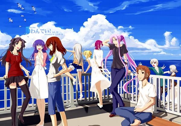 Tags: Anime, TYPE-MOON, Fate/hollow ataraxia, Fate/stay night, Emiya Shirou, Tohsaka Rin, Matou Sakura, Mitsuzuri Ayako, Bazett Fraga Mcremitz, Saber (Fate/stay night), Illyasviel von Einzbern, Rider (Fate/stay night)