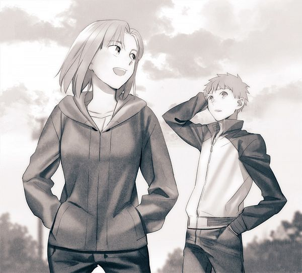 Tags: Anime, tam (artist), Fate/stay night, Mitsuzuri Ayako, Emiya Shirou, Fanart From Pixiv, Fanart, Pixiv