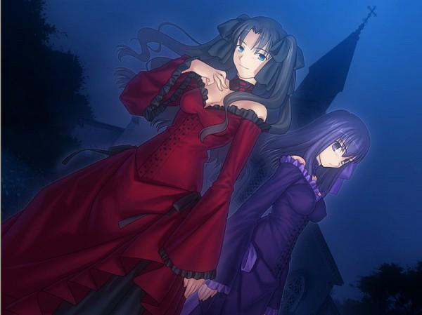 Tags: Anime, Takeuchi Takashi, TYPE-MOON, Fate/stay night, Tohsaka Rin, Matou Sakura