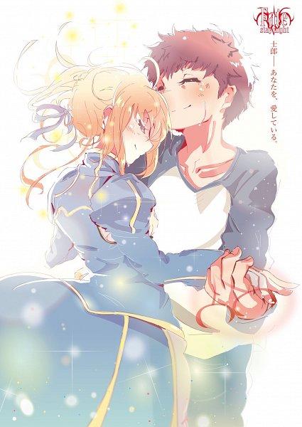 Tags: Anime, Pixiv Id 13536248, Fate/stay night, Emiya Shirou, Saber (Fate/stay night), Fanart From Pixiv, Fanart, Pixiv