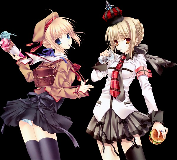 Tags: Anime, Tatekawa Mako, WNB Mark, TYPE-MOON, Fate/stay night, Saber (Fate/stay night), Saber Alter