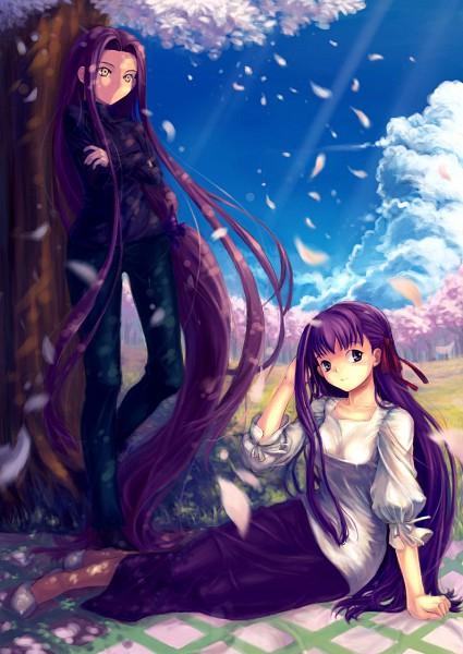 Tags: Anime, Fate/stay night, Matou Sakura, Rider (Fate/stay night), Fanart