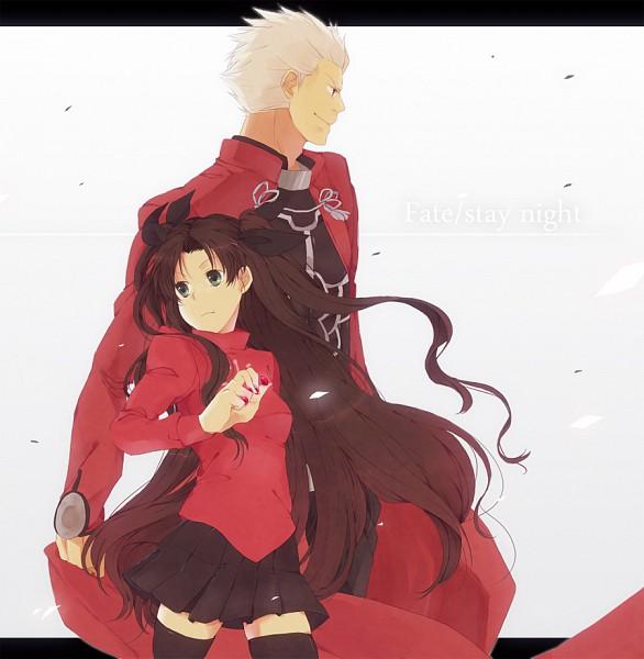 Tags: Anime, TYPE-MOON, Fate/stay night, Tohsaka Rin, Archer (Fate/stay night)