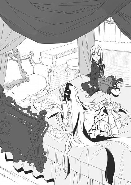Tags: Anime, Morii Shizuki, TYPE-MOON, Fate/strange fake, True Caster, Francesca Prelati, Novel Illustration, Official Art