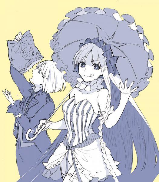 Tags: Anime, Isshiki (Pixiv388151), Fate/strange fake, True Caster, Francesca Prelati, Pixiv, Fanart, Fanart From Pixiv