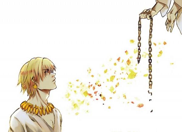 Tags: Anime, Alasse Calafalas, TYPE-MOON, Fate/strange fake, Fate/zero, Lancer (Fate/strange fake), Gilgamesh, Pixiv