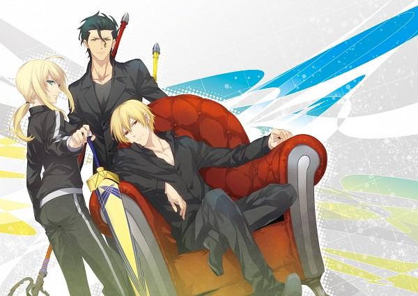Tags: Anime, ryugo, Fate/zero, Lancer (Fate/zero), Gilgamesh, Saber (Fate/stay night)