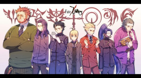 Tags: Anime, Mika (Pixiv385876), TYPE-MOON, Fate/zero, Lancer (Fate/zero), Rider (Fate/zero), Saber (Fate/stay night), Caster (Fate/zero), Berserker (Fate/zero), Gilgamesh, Assassin (Fate/zero), Adjusting Gloves, Matou Kariya (Cosplay)