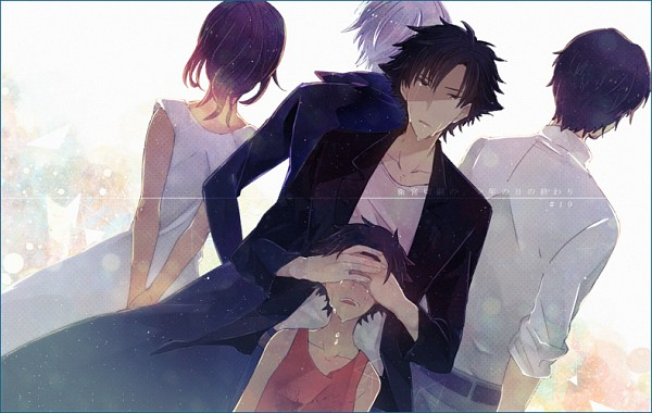 Tags: Anime, Pixiv Id 321433, TYPE-MOON, Fate/zero, Emiya Norikata, Emiya Kiritsugu, Shirley (Fate/zero), Natalia Kaminski, Pixiv