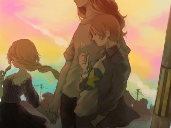 Tags: Anime, Pixiv Id 301188, TYPE-MOON, Fate/zero, Joan of Arc (Fate/Apocrypha), Uryuu Ryuunosuke, Caster (Fate/zero), Pixiv, Wallpaper