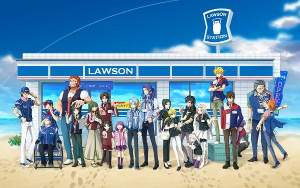 Tags: Anime, Hitohana, TYPE-MOON, Fate/zero, Hisau Maiya, Kayneth Archibald El-Melloi, Emiya Kiritsugu, Kotomine Kirei, Tohsaka Aoi, Waver Velvet, Caster (Fate/zero), Rider (Fate/zero), Tohsaka Rin