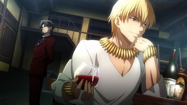 Tags: Anime, TYPE-MOON, Fate/zero, Gilgamesh, Tohsaka Tokiomi, King, HD Wallpaper, Facebook Cover, Screenshot, Wallpaper