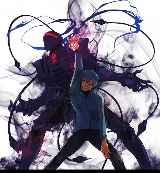 Tags: Anime, Pixiv Id 238063, Fate/zero, Berserker (Fate/zero), Matou Kariya, Pixiv, Fanart From Pixiv, Fanart