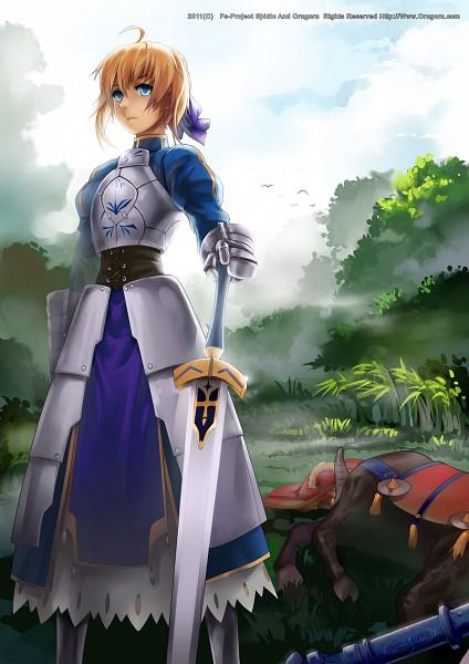 Tags: Anime, Fs-project, TYPE-MOON, Fate/zero, Rider (Fate/zero), Saber (Fate/stay night), Pixiv