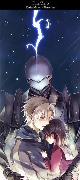Tags: Anime, Machiruda, TYPE-MOON, Fate/zero, Matou Kariya, Matou Sakura, Berserker (Fate/zero)