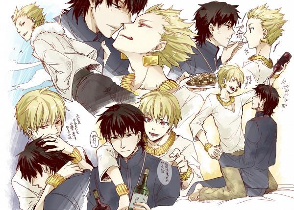 Tags: Anime, Sumeragi Sora, TYPE-MOON, Fate/zero, Kotomine Kirei, Gilgamesh