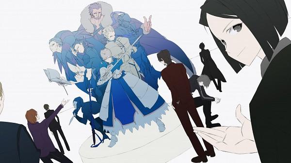 Tags: Anime, bthx, Fate/zero, Uryuu Ryuunosuke, Saber (Fate/stay night), Lancer (Fate/zero), Gilgamesh, Kayneth Archibald El-Melloi, Rider (Fate/stay night), Kotomine Kirei, Emiya Kiritsugu, Caster (Fate/zero), Matou Kariya