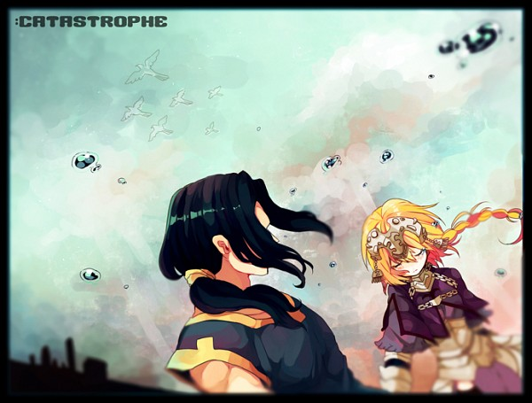 Tags: Anime, Senmen Kinuko, TYPE-MOON, Fate/zero, Joan of Arc (Fate/Apocrypha), Caster (Fate/zero), Pixiv