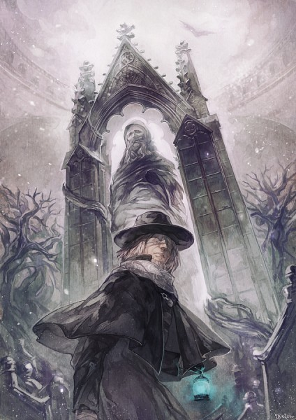 Father Gascoigne (Gascoigne Father) - Bloodborne