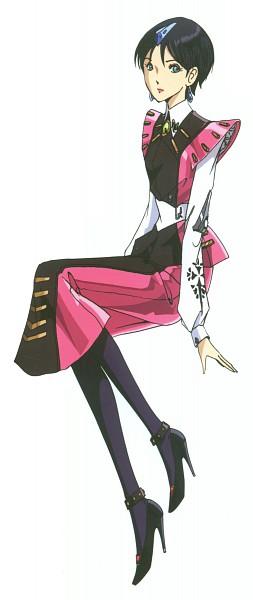 Tags: Anime, Nagano Mamoru, The Five Star Stories, Fatima Atropos, Scan, Official Art