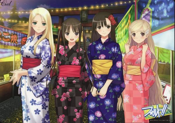 Tags: Anime, Tony Taka, Ciel (Studio), Fault!!, Sugiyama Mio, Saeki Ai, Date Wingfield Reiko, Hayama Rika, Scan