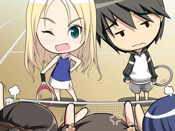 Tags: Anime, Tony Taka, Ciel (Studio), Fault!!, Sugiyama Shuuichi, Date Wingfield Reiko, Tennis