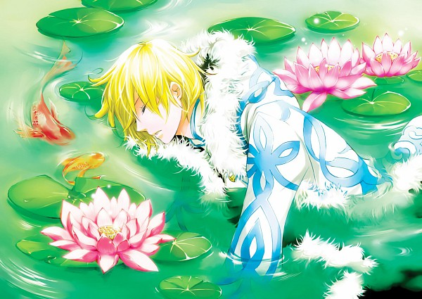 Tags: Anime, Astro-g, Tsubasa: RESERVoir CHRoNiCLE, Fay D. Flourite, 2000x1500 Wallpaper, Lily Pads