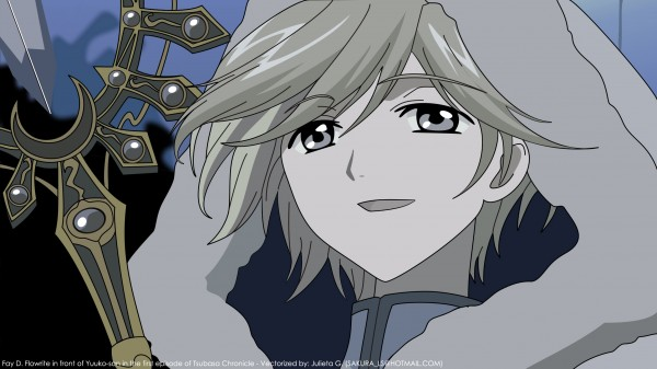 Tags: Anime, Tsubasa: RESERVoir CHRoNiCLE, Fay D. Flourite, Wallpaper, Vector