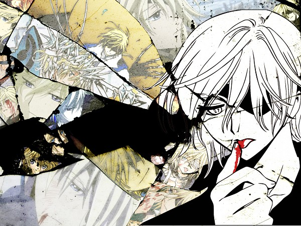 Tags: Anime, CLAMP, Tsubasa: RESERVoir CHRoNiCLE, Fay D. Flourite, Collage, Wallpaper, Edited