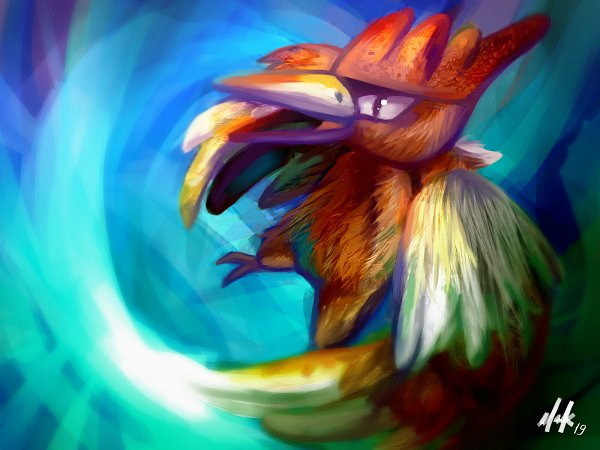 Tags: Anime, Pixiv Id 41627019, Pokémon Red & Green, Pokémon, Fearow, Pixiv, Fanart, Fanart From Pixiv