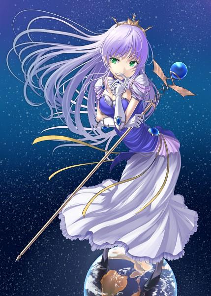 Tags: Anime, Shiokonbu, August (Studio), Yoake Mae yori Ruriiro na, Feena Fam Earthlight, Mobile Wallpaper, Pixiv