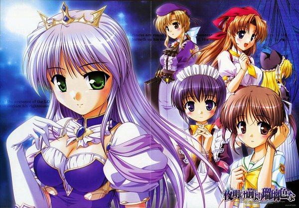 Tags: Anime, Bekkankou, Yoake Mae yori Ruriiro na, Mia Clementis, Feena Fam Earthlight, Official Art