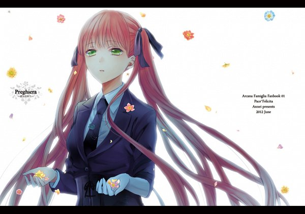 Tags: Anime, Murasaki (Annei), La storia della Arcana Famiglia, Felicita, Doujinshi Cover