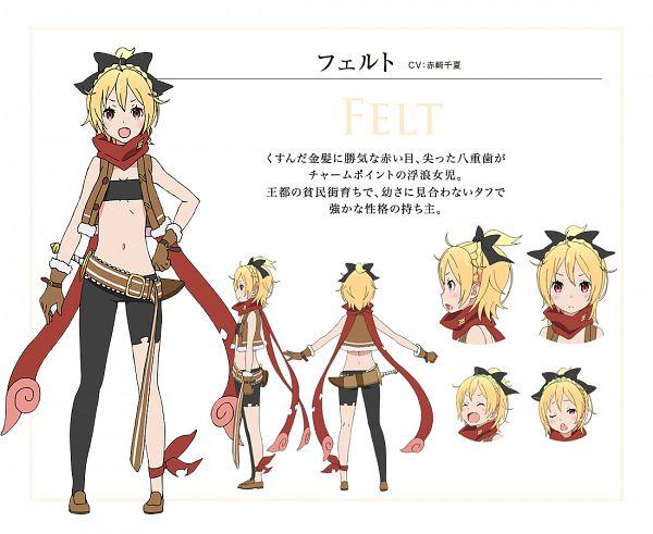 Felt (Re:Zero) - Re:Zero Kara Hajimeru Isekai Seikatsu