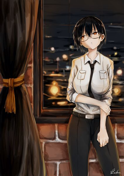 Tags: Anime, Pixiv Id 11025322, Kantai Collection, Admiral (Kantai Collection), Female Admiral (Kantai Collection)