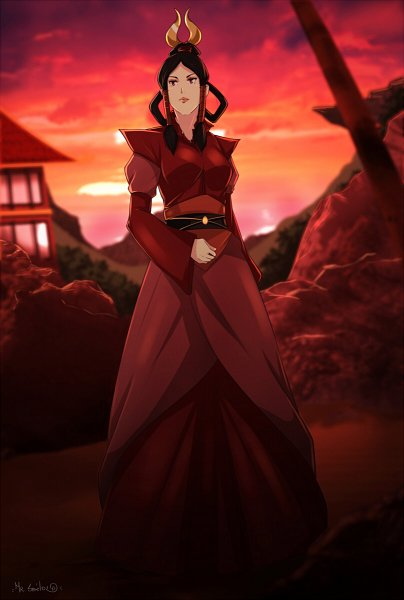 Tags: Anime, Sbel02, Avatar: The Last Airbender, Female Fire Avatar, Fanart From DeviantART, deviantART, Fanart