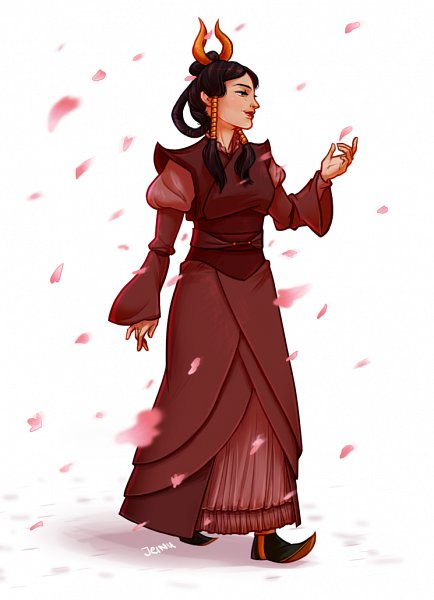 Female Fire Avatar - Avatar: The Last Airbender