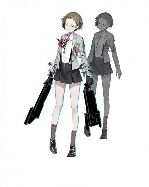 Tags: Anime, OGch, Historia (Studio), Caligula: Overdose, Caligula, Female Protagonist (Caligula), Official Art, Cover Image