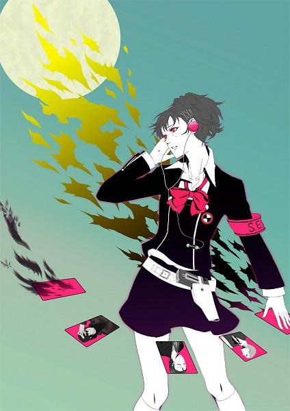 Tags: Anime, Persona 3 Portable, Shin Megami Tensei: PERSONA 3, Odagiri Hidetoshi, Sanada Akihiko, Female Protagonist (PERSONA 3), Aragaki Shinjirou, Mobile Wallpaper