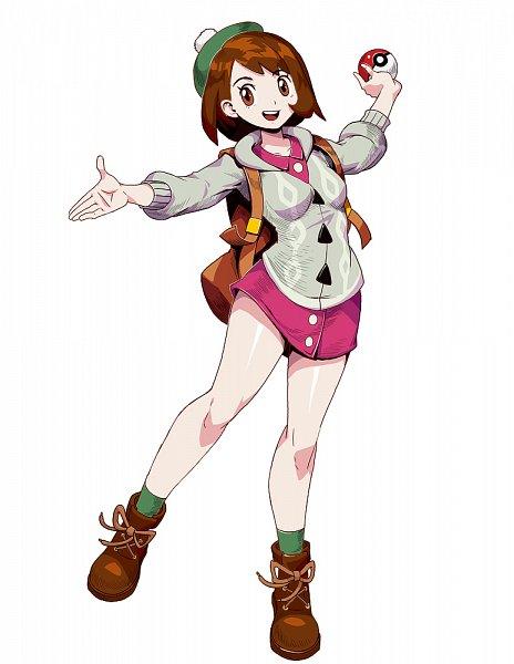 Tags: Anime, GENZOMAN, Pokémon Sword & Shield, Pokémon, Female Protagonist (Pokémon Sword & Shield), Cabbie Hat, Fanart From Pixiv, Fanart, Pixiv
