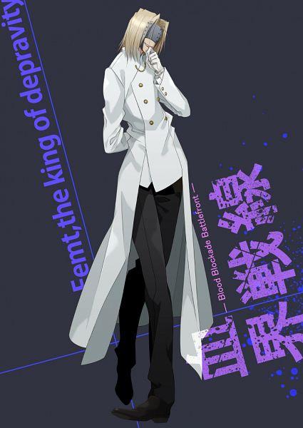 Tags: Anime, Rui Yuda, Kekkai Sensen, Femt (Kekkai Sensen), Mobile Wallpaper