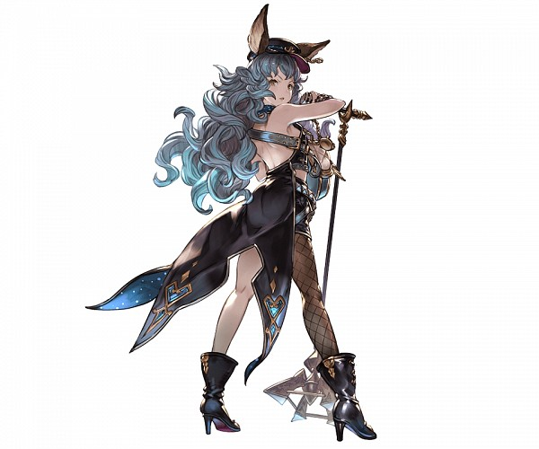 Tags: Anime, Minaba Hideo, Cygames, Granblue Fantasy, Ferry (Granblue Fantasy), Official Art, Cover Image, PNG Conversion