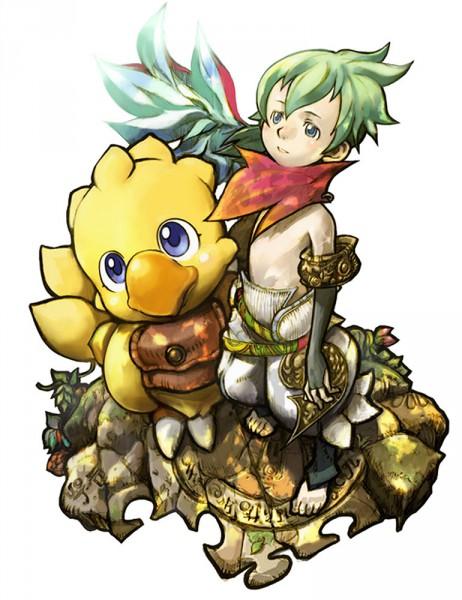Tags: Anime, SQUARE ENIX, Final Fantasy Fables: Chocobo's Dungeon, Chocobo, Raffaello