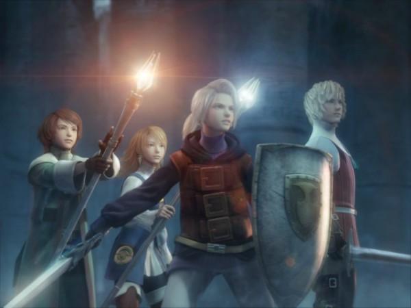 Tags: Anime, Final Fantasy III, Ingus, Arc (FF3), Refia, Onion Knight, Luneth